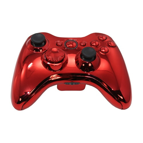 Red Chrome Xbox Controller | Xbox 360