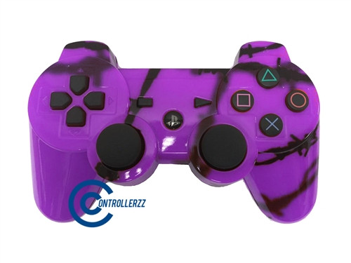 Purple Barbed Wire PS3 Controller | Ps3