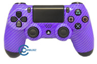 Purple Carbon Fiber PS4 Controller | Ps4