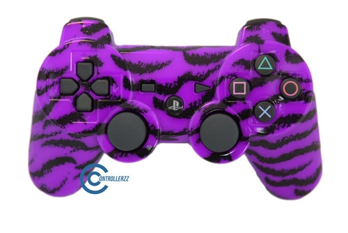 Purple Tiger PS3 Controller | Ps3