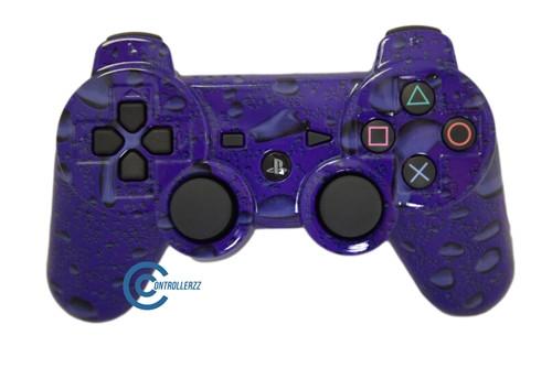 Purple Waterdrop PS3 Controller | Ps3