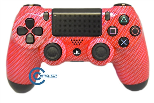 Red Carbon Fiber PS4 Controller | Ps4