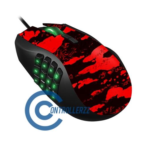 Red Splatter Razer Naga | Razer Naga