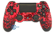 Red Digital PS4 Controller | Ps4