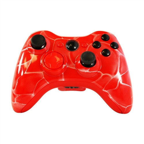 Red Swirl Controllers | Xbox 360
