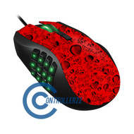 Red Water Dropped Razer Naga | Razer Naga