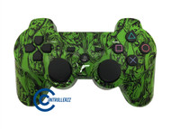Green Zombie PS3 Controller | PS3