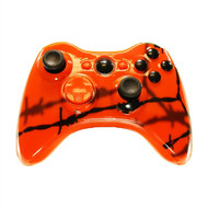 Orange Barbed Wire Controller | Xbox 360