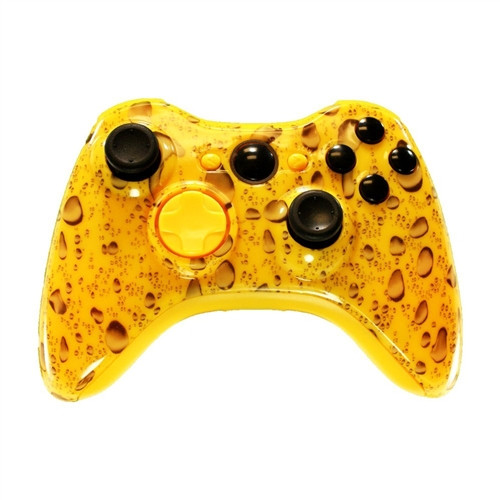 Yellow Water Dropped Controller | Xbox 360