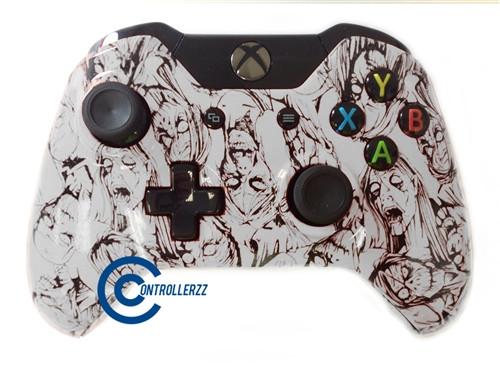 White Zombie Xbox One Controller | Xbox One