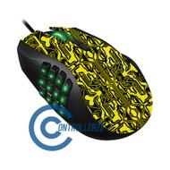 Yellow Circuit Razer Naga | Razer Naga