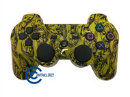 Yellow Zombie PS3 Controller | PS3