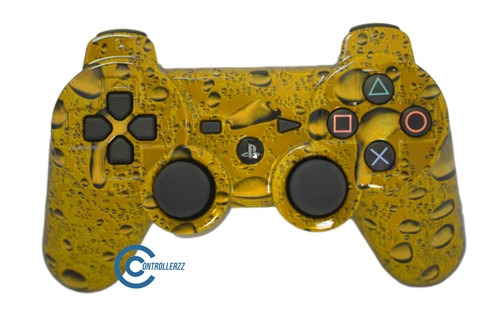 Yellow Waterdrop PS3 Controller | Ps3