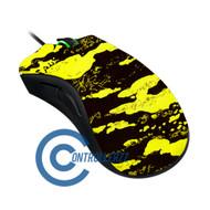 Yellow Splatter Razer DeathAdder | Razer DeathAdder
