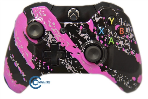 Pink Splatter Xbox One Controller | Xbox One