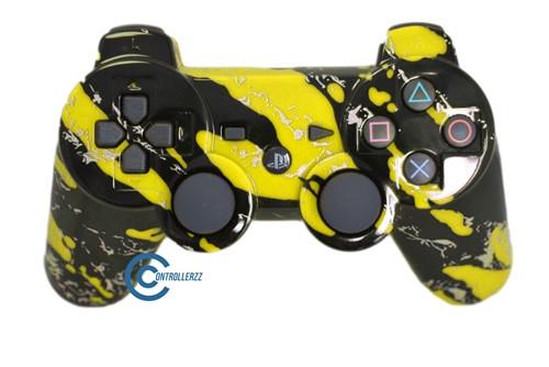 Yellow PS3 Splatter | Ps3