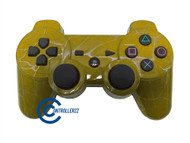 Yellow Swirl PS3 Controller | Ps3