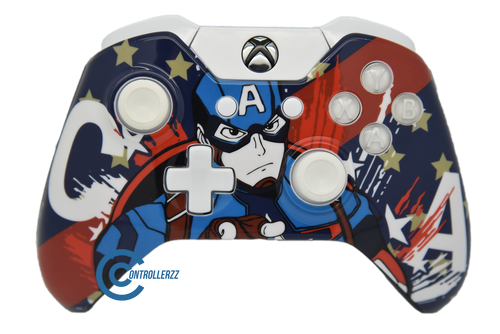 Captain America V2 Xbox One Controller | Xbox One