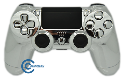Silver Chrome PS4 Controller  | PS4