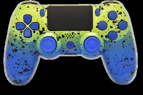 Blue & Green Fade PS4 Controller | PS4