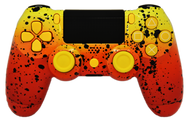 Orange & Yellow Fade PS4 Controller | PS4