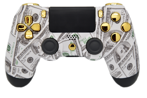 Money & Gold PS4 Controller | PS4