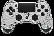 White & Black Splatter PS4 Controller | PS4