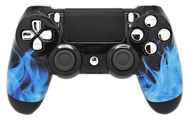 Blue Flame PS4 Controller | PS4