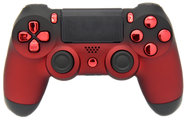 Red & Black Fade PS4 Controller | PS4