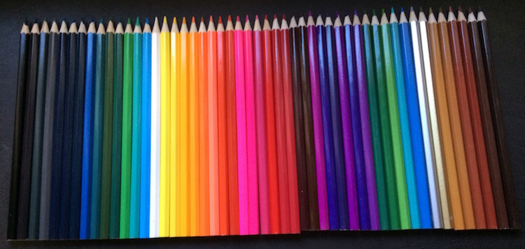 50 shades of personalized coloring pencils | ExplicitlyYoursPencils.com