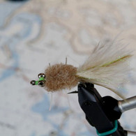Rag Head (Brown) Permit Fly