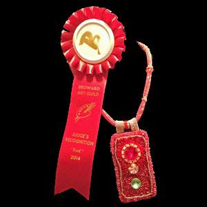 Award winning Red Light Necklace