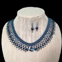 Lacy Collar (Petrol)