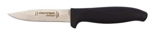"Dexter Russell SofGrip 4"" Carry Knife With Sheath Straight Edge 24723B Sg142-4B"