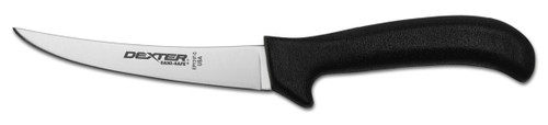 "Dexter Russell Sani-Safe 5"" Curved Flex Boning Knife Black Handle 11273B Ep131F-5B"