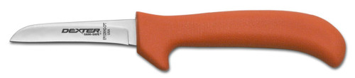"Dexter Russell Sani-Safe 3 1/4"" Wide Clip Point Deboning Knife Orange Handle 11423 Ep152Whg-3 1/4Cpt"