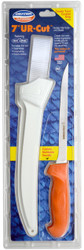 "Dexter Russell UR-Cut 7"" Flexible Fillet Knife Moldable Handle & Sheath 24673 UC133-7WS1-PCP"