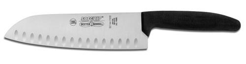 "Dexter Russell SofGrip 7"" Duo-Edge Santoku Knife 24503B SG144-7"