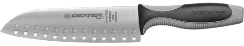"Dexter Russell V-Lo 7"" Duo-Edge Santoku Cook's Knife 29273 V144-7"