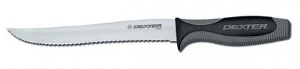"""Dexter Russell V-Lo 8"""" Scalloped Utility Slicer 29383 V158SC"""