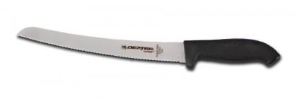 "Dexter Russell SofGrip 10"" Scalloped Bread Knife 24383B SG147-10SC"