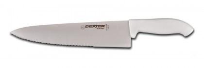 "Dexter Russell SofGrip 10"" Scalloped Cook's Knife 24183 SG145-10SC"