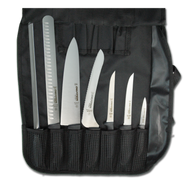 Dexter Russell SofGrip 7 PC. Cutlery Set Black Handles 20713 SGBCC-7