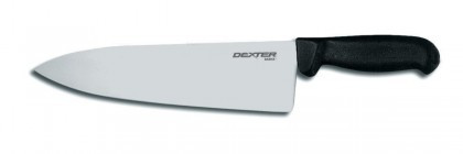 "Dexter Russell Basics 10"" Wide Cooks Knife Black Handle 31630 P94831B"