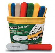 """Dexter Russell Sani-Safe 3 1/2"""" 48 Scalloped Colored Spreaders 18553 S173SC-48B"""