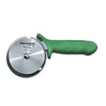 "Dexter Russell 4"" Pizza Cutter Green Handle 18023G P177AG-PCP"