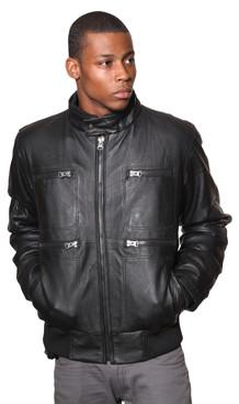 Wilda | Grant Leather Jacket
