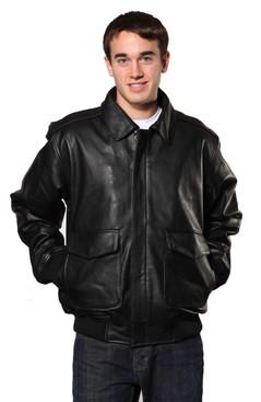 Wilda | Flight Leather Jacket
