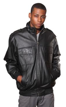 Wilda | Mechanic Leather Jacket