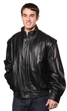 Wilda | Classic Leather Bomber